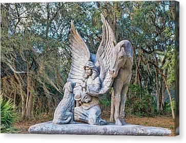 Guardian Angel Canvas Print by Louis Ferreira