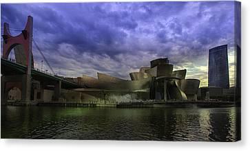 Guggenheim Bilbao Canvas Print by Contemporary Art