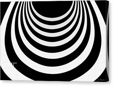 Guggenheim Plus Plus No. 1 Canvas Print by Joe Bonita