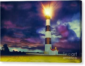 Guiding Light Canvas Print by Dan Carmichael