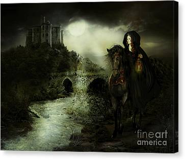 Guinevere Canvas Print by Shanina Conway