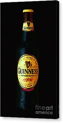 Guinness Canvas Print by Wingsdomain Art and Photography