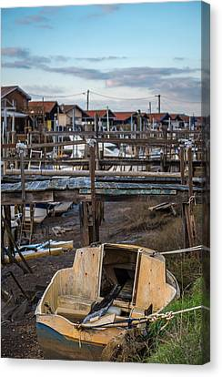 Canvas Print featuring the photograph Gujan Mestras II by Thierry Bouriat