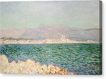 Gulf Of Antibes Canvas Print by Claude Monet