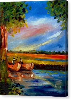 Gullah Lowcountry Sc Canvas Print by Phil Burton