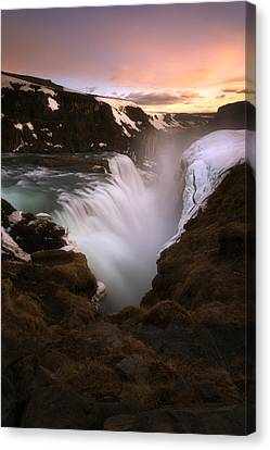 Gullfoss Canvas Print by Tor-Ivar Naess