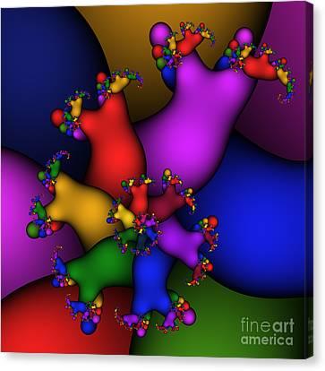 Gummy Bears 186 Canvas Print by Rolf Bertram