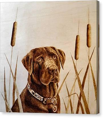 Gunner Canvas Print by Adam Owen