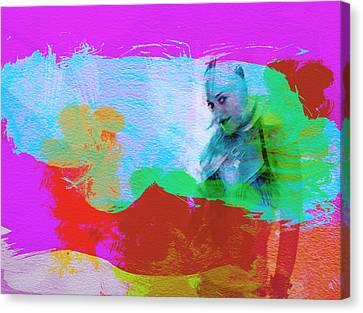 Gwen Stefani Canvas Print by Naxart Studio