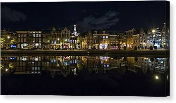 Haarlem Night Canvas Print by Chad Dutson