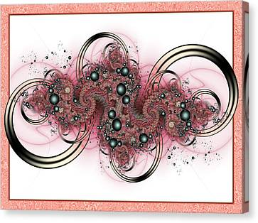 Hadron Collider Canvas Print by David April