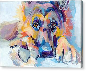 Hagen Canvas Print by Kimberly Santini