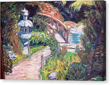 Hakone Canvas Print by Carolyn Donnell