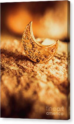 Half Moon Crescent. Bedtime Scene Canvas Print by Jorgo Photography - Wall Art Gallery