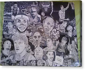 Hall Of Fame Canvas Print by Demetrius Washington