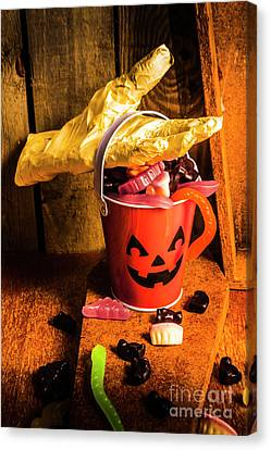 Halloween Candy Still Life Canvas Print by Jorgo Photography - Wall Art Gallery
