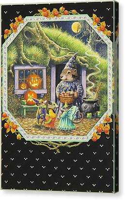 Halloween Treats Canvas Print by Lynn Bywaters