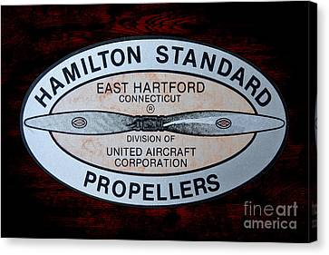 Hamilton Standard East Hartford Canvas Print by Olivier Le Queinec