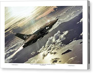 Hammer Time Pilot Edition Canvas Print by Peter Chilelli