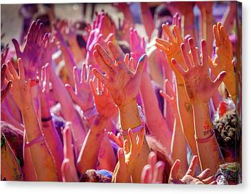 Hands Up Canvas Print by Okan YILMAZ