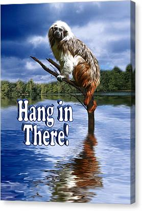 Hang In There Canvas Print by Gravityx9  Designs