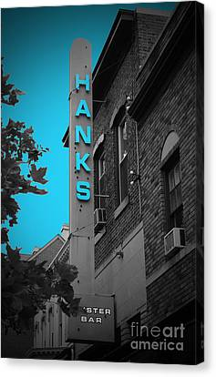 Hanks Oyster Bar Canvas Print by Jost Houk