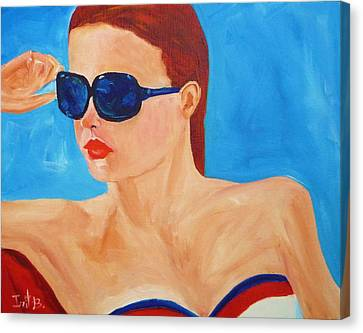 Happy 4th Canvas Print by Irit Bourla