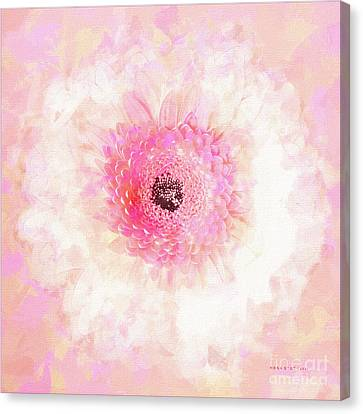Happy Face Just For You Canvas Print by Mona Stut