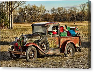 Happy Holidays From Boulder County Colorado Canvas Print by James BO  Insogna
