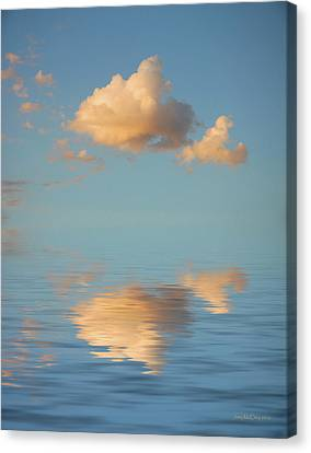 Happy Little Cloud Canvas Print by Jerry McElroy