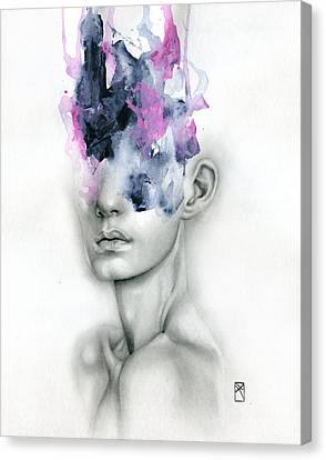 Harbinger Canvas Print by Patricia Ariel