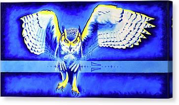 Harbinger Canvas Print by Robert Martinez