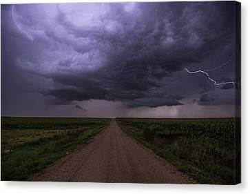 Hardwired Canvas Print by Aaron J Groen
