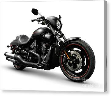 Harley Davidson Vrscd Night Rod Special  Canvas Print by Oleksiy Maksymenko