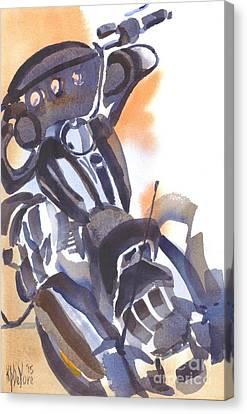 Motorcycle Iv Canvas Print by Kip DeVore