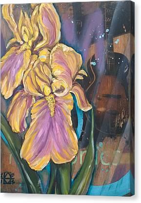 Harmonics Canvas Print by Andrea LaHue