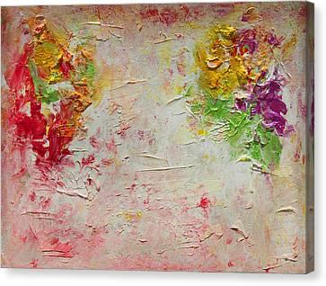 Harmony And Balance Canvas Print by Julia Apostolova