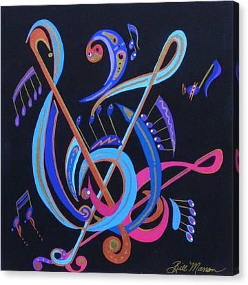 Harmony Iv Canvas Print by Bill Manson