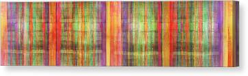 Harmony Stripes Canvas Print by Ab Stract