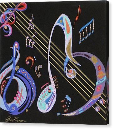 Harmony V Canvas Print by Bill Manson