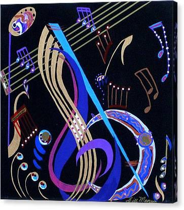 Harmony Vi Canvas Print by Bill Manson