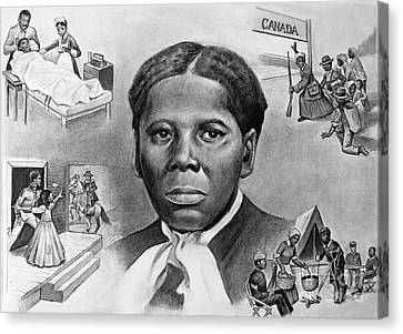 Harriet Tubman Canvas Print by Curtis James