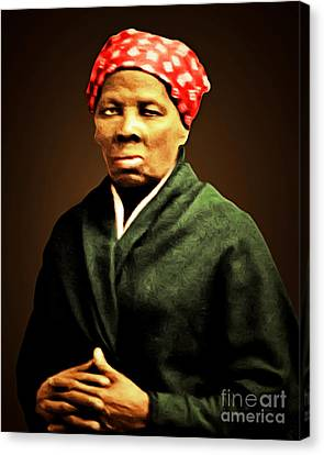 Harriet Tubman Underground Railroad 20160420 Canvas Print by Wingsdomain Art and Photography