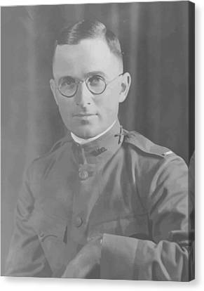Harry Truman During World War One Canvas Print by War Is Hell Store