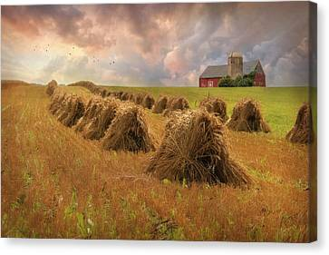 Harvest Blessings Canvas Print by Lori Deiter
