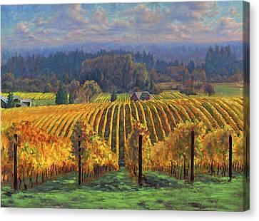 Harvest Gold Canvas Print by Michael Orwick