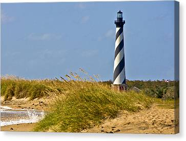 Hatteras Lighthouse Canvas Print by Ches Black