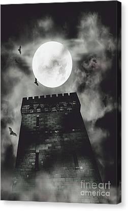 Haunted Dark Castle Canvas Print by Jorgo Photography - Wall Art Gallery