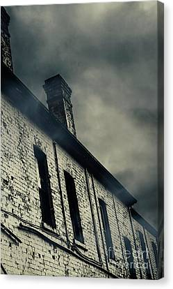 Haunted House Details Canvas Print by Jorgo Photography - Wall Art Gallery