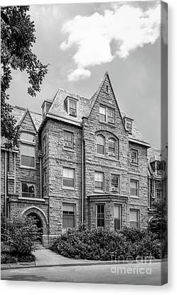 Haverford College Barclay Hall Canvas Print by University Icons